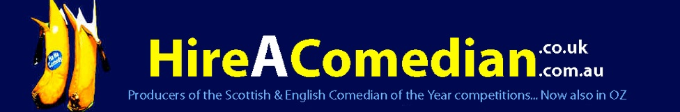Hire a comedian with  Ha Ha Comedy